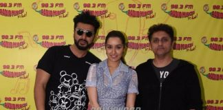 Arjun Kapoor and Shraddha Kapoor promote Half Girlfriend at Radio Mirchi Studios