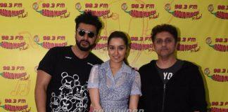 Arjun Kapoor and Shraddha Kapoor promote Half Girlfriend at Radio Mirchi Studios