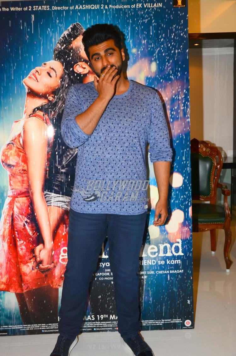 Arjun Kapoor promotes Half Girlfriend