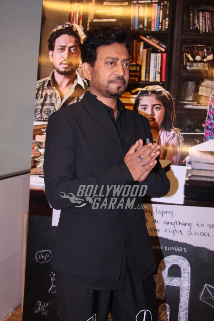 Irrfan Khan Launches Official Trailer For Hindi Medium