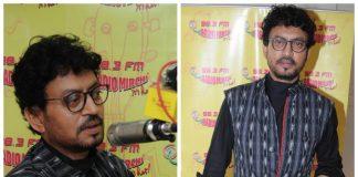 Irrfan Khan goes stylish while promoting Hindi Medium at Radio Mirchi – Photos