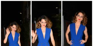 Kangana Ranaut wraps shoot for Simran with celebratory bash