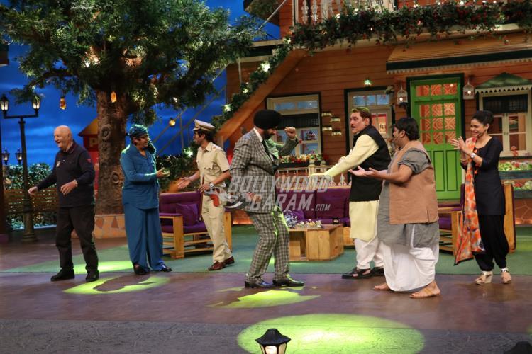 Prem Chopra, Raza Murad, Ranjeet on TKSS