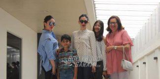 Babita Kapoor, Kareena and Karisma bond over lunch – Photos!