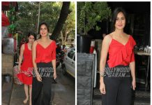 Katrina Kaif looks happy as she strolls with her mother and sister