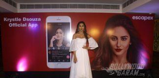 Television actress Krystle D'Souza launches her official mobile app!