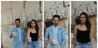 Ayushmann Khurrana and Parineeti Chopra kick off Meri Pyaari Bindu promotions – Photos