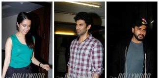 Shraddha Kapoor, Sidharth Malhotra, Arjun Kapoor at Mohit Suri's birthday bash