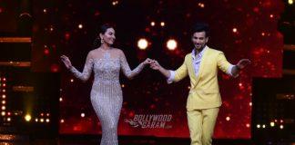Behind the scene photos- celebrity couples, Sonakshi Sinha on Nach Baliye S8 E2