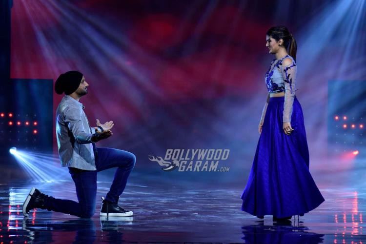 Harbhajan Singh and Geeta Basra Nach Baliye 8