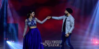 Nach Baliye 8: Harbhajan Singh and Geeta Basra spread IPL fever on sets