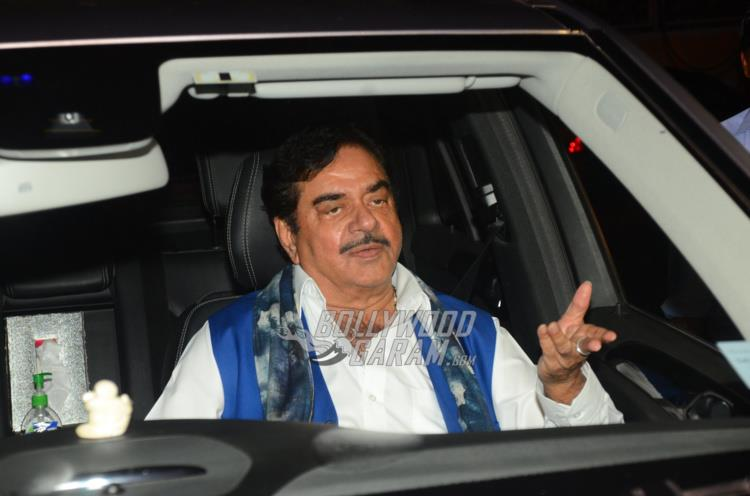 Poonam and Shatrughan Sinha