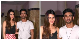 Sushant Singh Rajput and Kriti Sanon on a promotional spree for Raabta in Mumbai