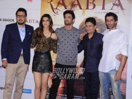 Kriti Sanon, Sushant Singh Rajput launch Raabta official trailer video