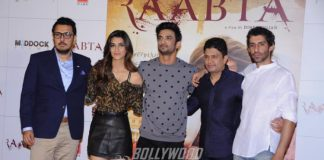 Kriti Sanon, Sushant Singh Rajput launch Raabta official trailer video
