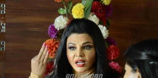 Rakhi Sawant clarifies about the Valmiki controversy at a press conference