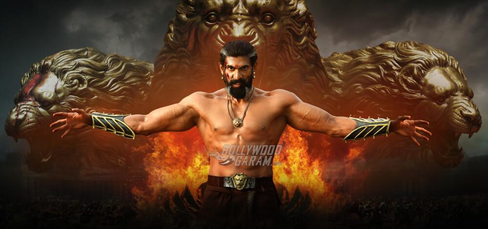 Rana Daggubati as King Bhallaladeva in Baahubali 2 The Conclusion