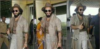 Ranveer Singh makes a splash at Mumbai Airport with his quirky fashion!