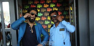 Pictures of Ranveer Singh posing with a watchman will make your day!