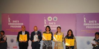 Raveena Tandon has turned activist for girls by supporting She's Brand Ambassador Program