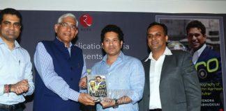 Sachin Tendulkar biography Hero, penned by Devendra Prabhudesai launched!