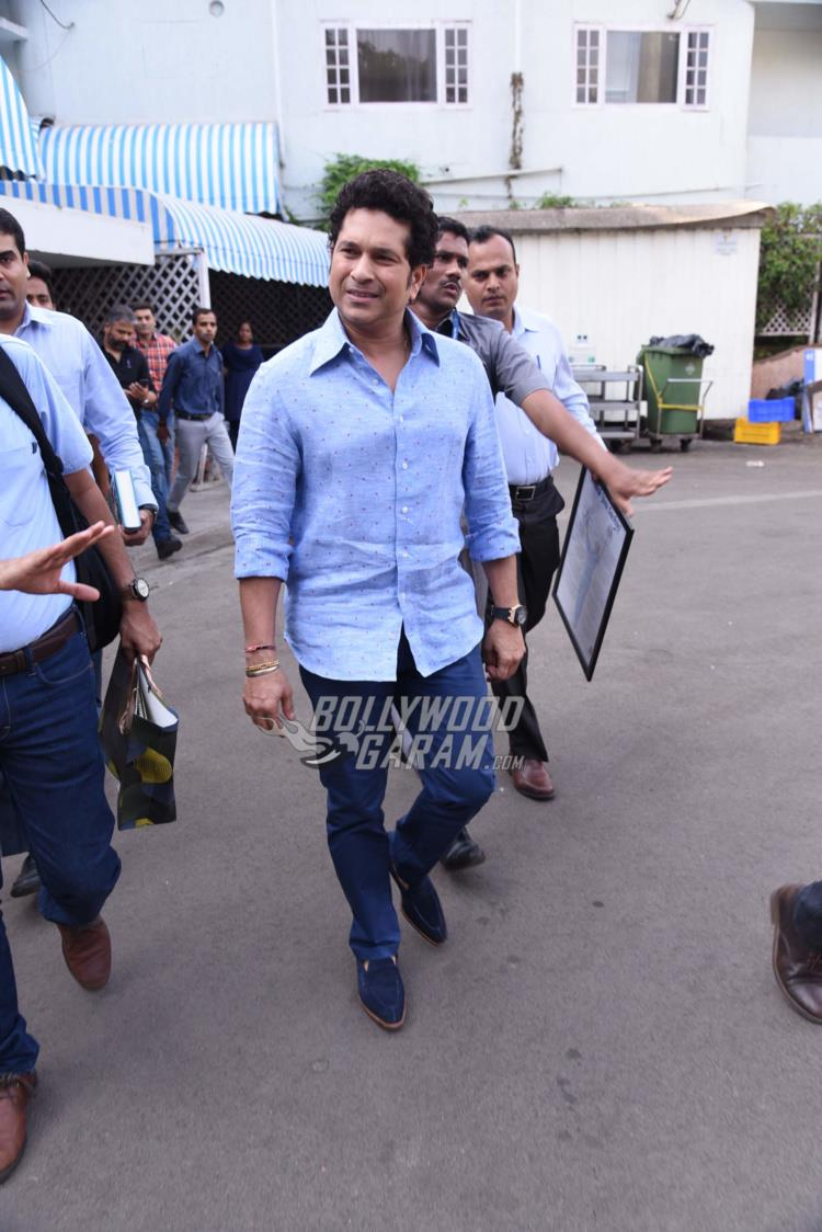 Sachin Tendulkar biography launch