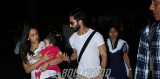 Shahid Kapoor's daughter Misha makes her first public appearance