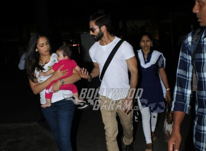 Shahid kapoor daughter1
