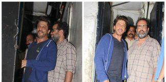 Shahrukh Khan and Anand L Rai discuss work over dinner – Photos