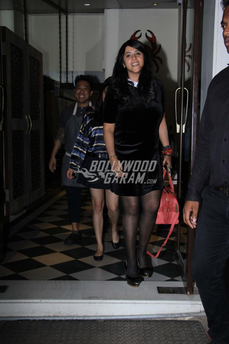 Shraddha Kapoor and Ekta Kapoor dinner date