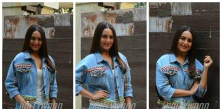 Sonakshi Sinha slays in all denim look for Noor promotions – Photos