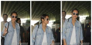 Photos – Sonakshi Sinha leaves for Dabangg Tour in Auckland amidst busy schedule