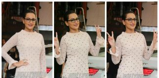 Sonakshi Sinha shows off her geeky side at Junkyard Café – Photos