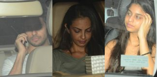 Sidharth Malhotra and Suhana Khan visit Karan Johar's twins – Photos