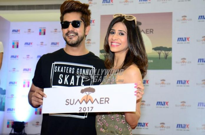 Suyyash rai and Kishwer event1