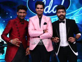 LV Revanth Kumar is crowned Indian Idol winner of Season 9 by Sachin Tendulkar