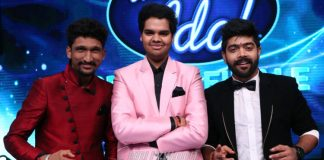 LV Revanth Kumar is crowned Indian Idol winner of Season 9 by Sachin Tendulkar