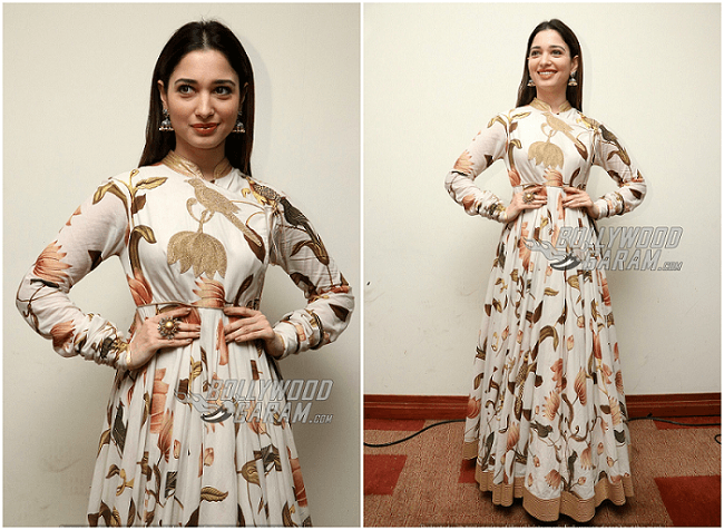 Tamannah Bhatia Press Meet Baahubali 2
