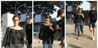 Twinkle Khanna, son Aarav spotted on a movie date at PVR Juhu – Photos