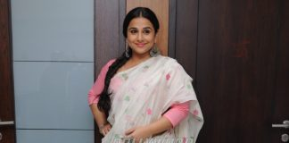 Vidya Balan heads for a meeting with Begum Jaan producers