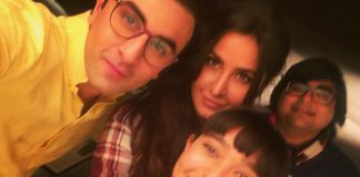 Ranbir Kapoor and Katrina Kaif take their first selfie together post break-up!