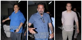 Sanjay Dutt, David Dhawan, Sajid Nadiadwala party together! Photos