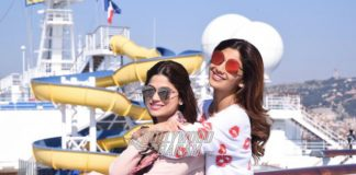 Shilpa, Shamita Shetty enjoy a sunny afternoon at Adel and Sana's wedding – Photos