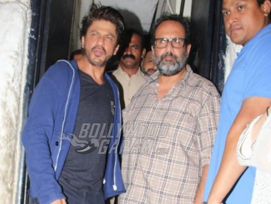 SRK escapes near-fatal accident on Aanand Rai's sets!