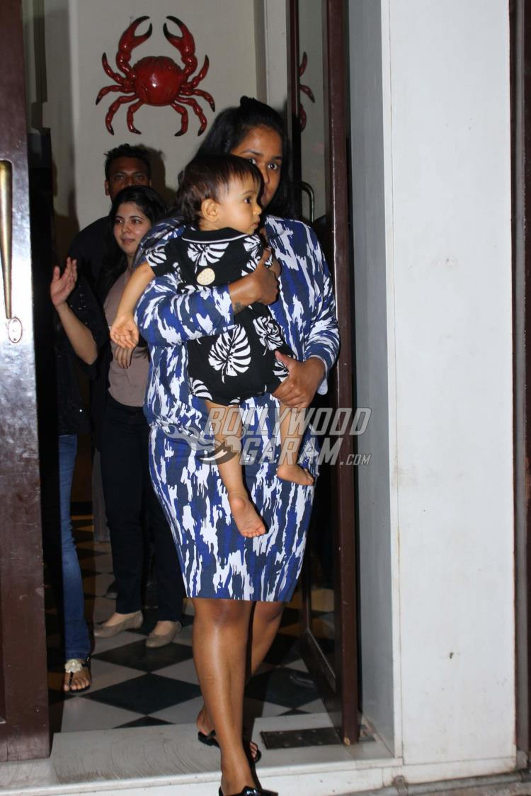 Arpita Khan with Ahil