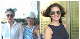 Kareena Kapoor Khan and Esha Gupta make the most stylish appearances at airport