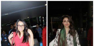 PHOTOS – Shraddha Kapoor, Soha Ali Khan spotted at Mumbai airport