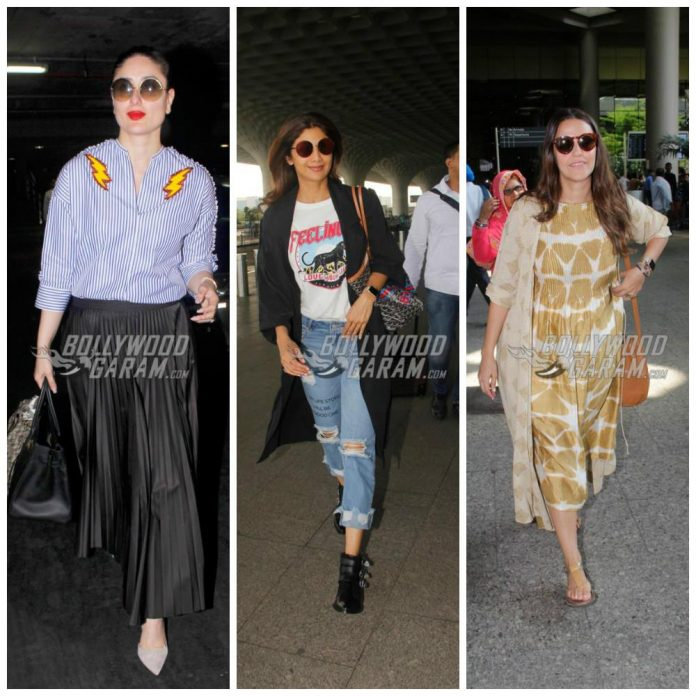 Airport celebrities