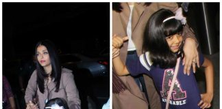 PHOTOS – Aishwarya Rai Bachchan, Aaradhya leave for Cannes Film Festival 2017!
