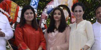 Aishwarya Rai Bachchan inaugurates Rouble Nagi's sculpture
